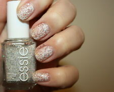 Essie Nail Polish Lacquer In Peak Of Chic Alpine White Holographic Fringe