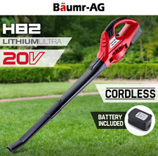 20V Cordless Leaf Blower 1300mA.h Lithium-Ion Electric Handheld Leaf Blower