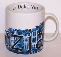 2003 STARBUCKS COFFEE BARISTA ITALIAN EDITION II COLLECTOR SERIES VENEZIA MUG