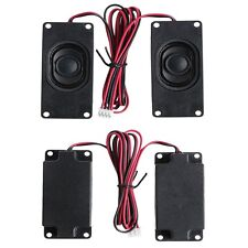 2Pcs 3070 4 Ohm 3W Advertising LCD TV Speakers Loudspeaker Rectangle Speaker Hot