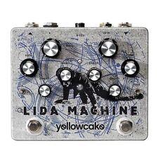 Yellowcake Lida Machine Resonant Filter Guitar Pedal  - Ships FREE U.S.