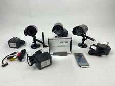 Wireless Camera Set. Astak Model  WLC-102. 3 Cameras, Remote New Open Box