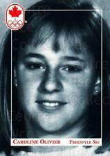 1992 Canadian Olympic Hopefuls #163 Caroline Olivier