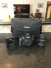 Canon EOS Rebel T5 18.0MP Digital SLR Camera - w/ EF-S 18-55mm and Carrying Case