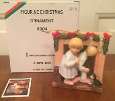 """""""Is He Coming"""" Christmas Ornament Dave Grossman Norman Rockwell 2004"""