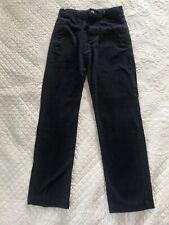 Wonder Nation Boys Pants Size 14 Regular Navy Blue Soft Uniform 4 Pocket