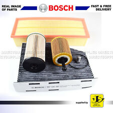 BOSCH SERVICE KIT AUDI TT 2.0 TDi (CBBB) 170BHP FILTERS AIR OIL FUEL CABIN