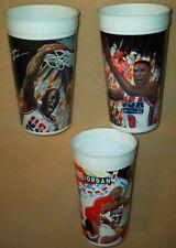 1992 +1994 McDonald's USA Dream Team + MVP collector cup lot(3)-Michael Jordan,+