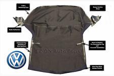 EZ ON VW Golf Cabrio Cabriolet 1995-2001 Convertible Soft Top Black Vinyl