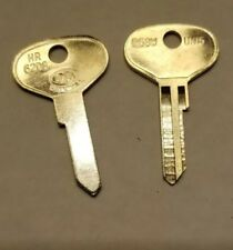 2 DL HR62DG SUNBEAM TIGER  & ALPINE Ignition Key Blank 1959-67