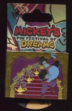Mickey's Pin Festival of Dreams Music Genie Flocked Disney Pin 55775