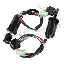 2x Ignition Key Switch For Mini ATV Quad Dirt Pocket Chopper Bike Scooter 4 Wire