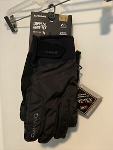 New Dakine Impreza Gore-Tex Black Gloves, Ski, Snowboard, Large