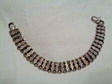 Chain Bracelet Antique Victorian Book
