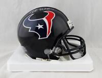 Deshaun Watson Autographed Houston Texans Mini Helmet- JSA W Auth *Silver