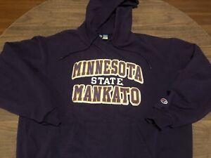 Minnesota State Mankato Champion Eco Fleece Embroidered XL Hoodie Sweatshirt