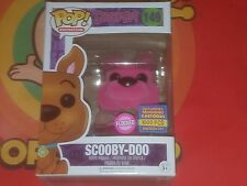 Funko Pop! Animation Scooby Doo #149 Flocked (Pink) SDCC 2017 Exclusive