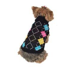 Vêtements et chaussures multicolore pour chien