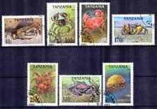Tanzanie 1994 Crustacés (26) Yvert n° 1695 à 1701 oblitéré used