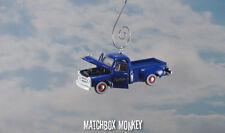 Custom 1954 Studebaker 3R Truck Blue Christmas Ornament 1/64 Adorno Pickup Farm