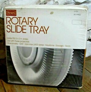 NIB  Vintage Sears Brand New Factory Sealed Easi-Load Circular Slide Tray