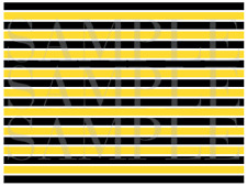 Yellow and Black Cake Strips Cake Wrap Bumble Bee Cake Strips Icing Sheet