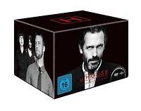 Dr. House - Die komplette Serie, Season 1-8 46 DVDs DEUTSCH DVD NEU Staffel