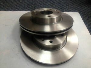 FORD FIESTA MK7 1.6 ZETEC S FRONT DISCS 258MM PAGID BRAND OE QUALITY