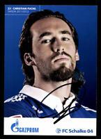 Christian Fuchs Autogrammkarte FC Schalke 04 2011-12 Original Signiert+111743