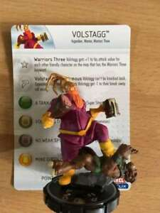 HEROCLIX Hammer of Thor super rare Volstagg - 059