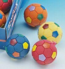 Vollgummi Ball Fußball 6,5cm Hundespielzeug