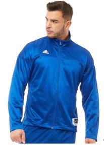 adidas Ekit Jacket In Collegiate Royal/White Training Men's NEW