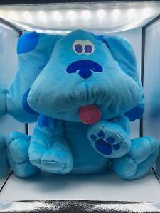 Large Fisher Price Mattel Big Hugs Blues Clues Dog Plush Kids Stuffed Toy Animal