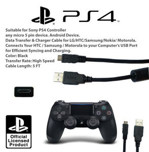 USB Cable Genuine for sony PS4 Charger Charge Controller Dualshock PlayStation 4