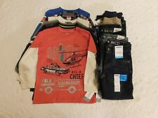 Boys Clothes Lot size 5 5T NWT Fall Winter Shirts Pants Brand New Retail $294