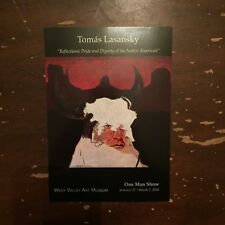 2004 Tomas Lasansky One Man Show West Valley Art Museum Advertising Card