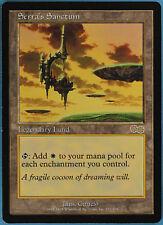 Serra's Sanctum Urza's Saga NM-M Land Rare Reserved List CARD (ID 38868)ABUGames