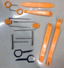 Car Radio Door Clip Panel Trim Dash Audio Removal Pry Tool Kit Plastic 12pcs/set