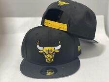 Chicago Bulls  Black Yellow New Era Snapback