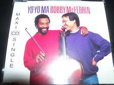 Yo Yo Ma / Bobby McFerrin Hush Rare 3 Track CD Single