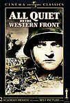 All Quiet on the Western Front DVD Lewis Milestone(DIR) 1930