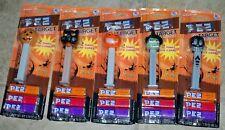 Pez Target Halloween Value Packs Carded Set of 5 MIP