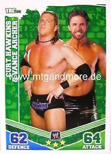 Slam ATTAX Mayhem #156 Curt Hawkins & Vance Archer