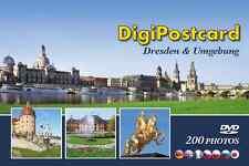 """DigiPostcard """"Dresden und Umgebung"""" -  Ansichtskarte mit DVD als Stadtführer"""