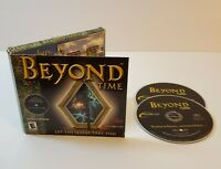 Beyond Time PC CD-Rom 2001 Windows point and click adventure game free shipping