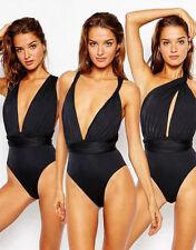 Patternless Swimming Costumes for Women ASOS