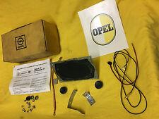 NEU ORIG Opel BLAUPUNKT Lautsprecher Rekord D Commodre B Schrauben + E-Satz 12V