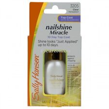 Sally Hansen Nailshine Miracle 10 Day Top Coat Shine & Protect Against Chipping