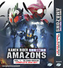 DVD KAMEN RIDER AMAZON (1974) + AMAZON (2016) COMPLETE BOX SET