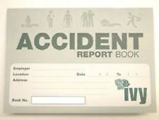 Accident Report Book - First Aid Injury Record School Office